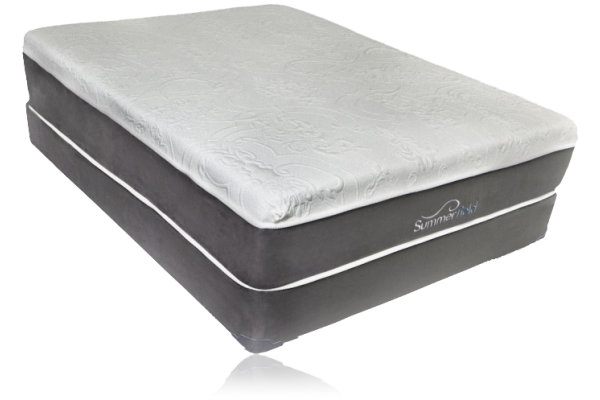 Summerfield Gel Carolyn Luxury Plush Memory Foam Mattress
